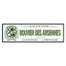BOUVIER DES ARDENNES Bumper Bumper Stickers