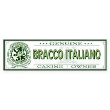 BRACCO ITALIANO Bumper Bumper Sticker