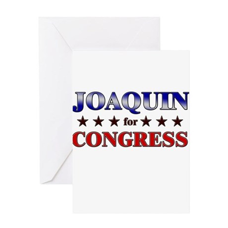 JOAQUIN for congress Greeting Card