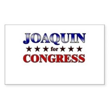 JOAQUIN for congress Rectangle Decal