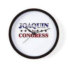 JOAQUIN for congress Wall Clock