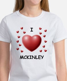 I Love Mckinley - Women's T-Shirt