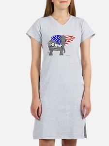 Trump Elephant Women's Nightshirt