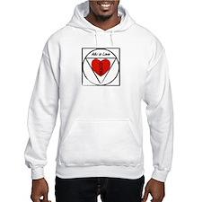 """""""Aiki is Love"""" Hoodie"""