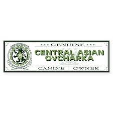 CENTRAL ASIAN OVCHARKA Bumper Bumper Sticker