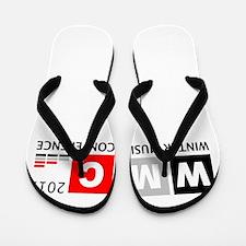 Unique Conference Flip Flops