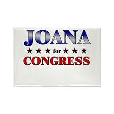 JOANA for congress Rectangle Magnet