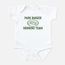 Park Ranger Drinking Team Infant Bodysuit
