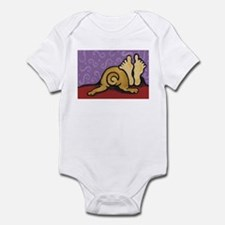 Pug in Bed Infant Bodysuit