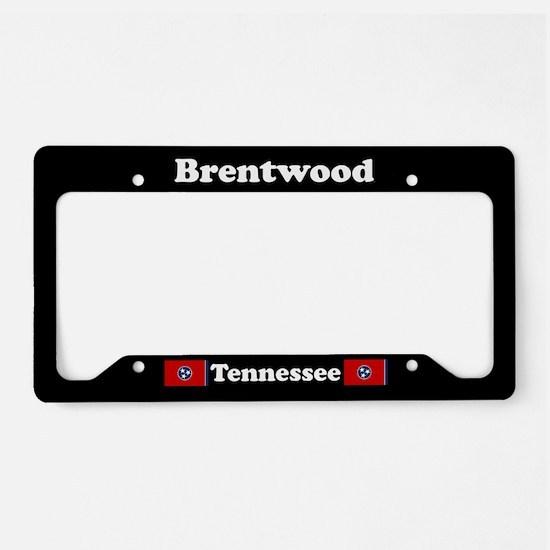 Brentwood TN - LPF License Plate Holder