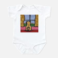 Pug at the Window Infant Bodysuit