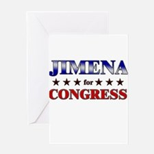 JIMENA for congress Greeting Card