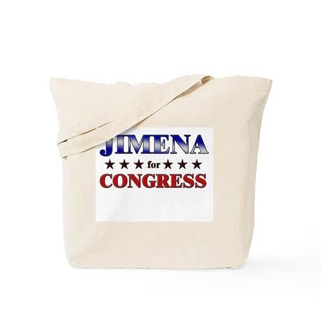 JIMENA for congress Tote Bag