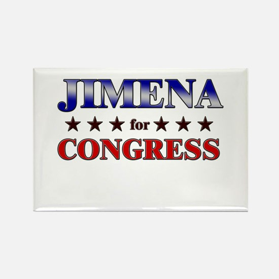 JIMENA for congress Rectangle Magnet