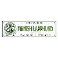 FINNISH LAPPHUND Bumper Bumper Sticker
