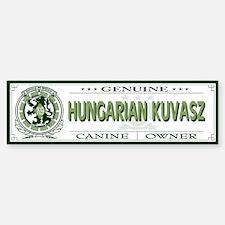 HUNGARIAN KUVASZ Bumper Bumper Bumper Sticker