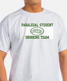 Paralegal Student Drinking Te T-Shirt