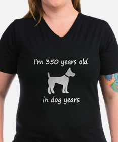 50 Dog Years White Dog 1 T-Shirt