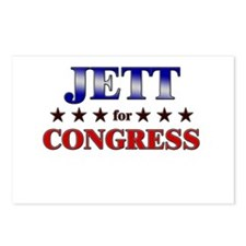 JETT for congress Postcards (Package of 8)