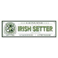 IRISH SETTER Bumper Bumper Sticker