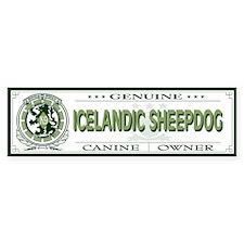 ICELANDIC SHEEPDOG Bumper Bumper Sticker