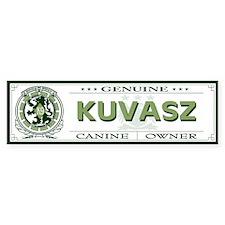 KUVASZ Bumper Bumper Sticker