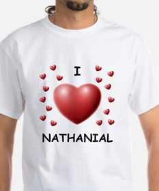 I Love Nathanial - Shirt