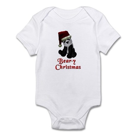 Bear-y Christmas Panda Infant Bodysuit