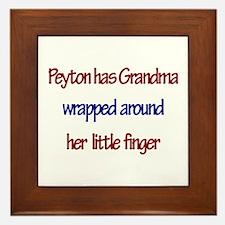 Peyton - Grandma Wrapped Arou Framed Tile