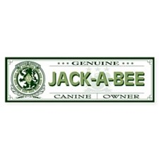 JACK-A-BEE Bumper Stickers