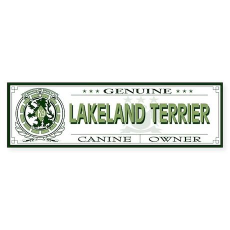 LAKELAND TERRIER Bumper Sticker