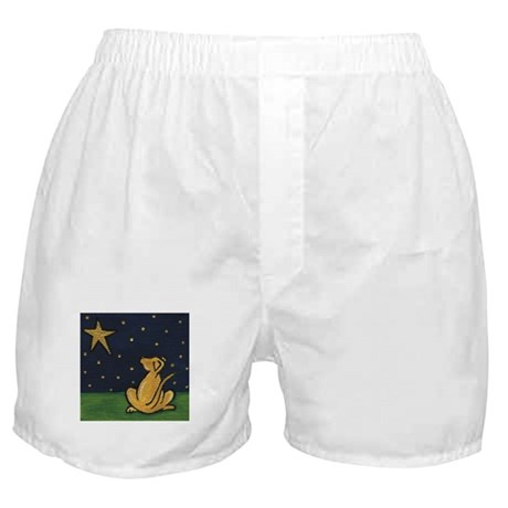 Starry Eyed Lab Boxer Shorts