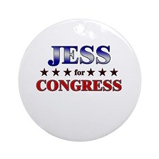 JESS for congress Ornament (Round)