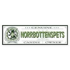 NORRBOTTENSPETS Bumper Bumper Sticker
