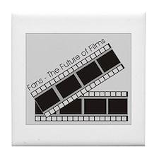 FanFilms Tile Coaster