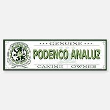 PODENCO ANALUZ Bumper Bumper Bumper Sticker