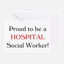 Proud Hospital SW Greeting Card