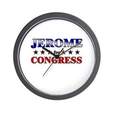 JEROME for congress Wall Clock