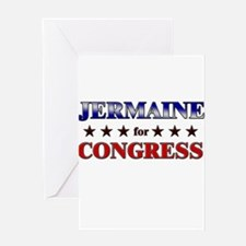 JERMAINE for congress Greeting Card