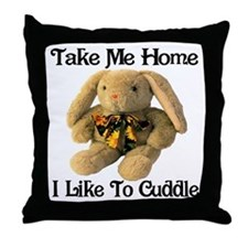 Take Me Home With You Throw Pillow