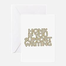 Funny Wga Greeting Card