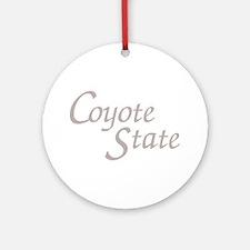 South Dakota Coyote State Keepsake (Round)