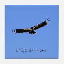 California Condor Tile Coaster