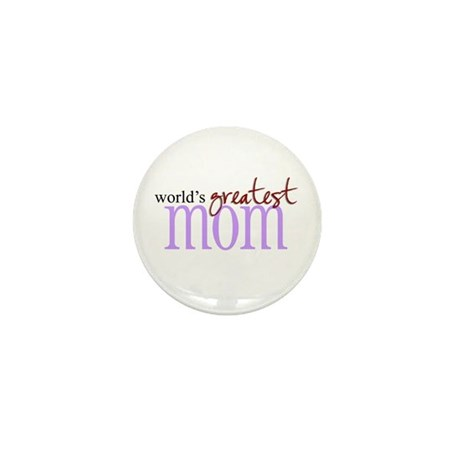 World's Greatest Mom Mini Button (100 pack)