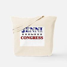 JENNI for congress Tote Bag