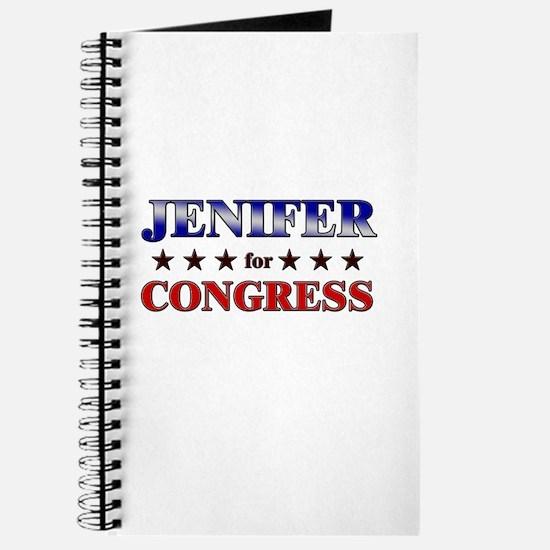JENIFER for congress Journal
