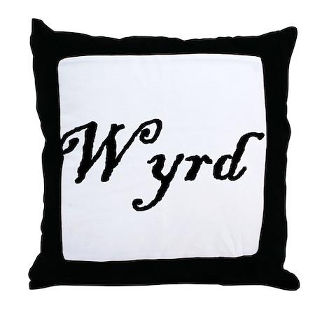 Wyrd Throw Pillow