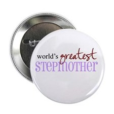 """World's Greatest Stepmother 2.25"""" Button (10 pack)"""