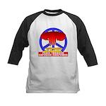 Peace Through Superior Firepo Kids Baseball Jersey