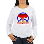 Peace Through Superior Firepo Women's Long Sleeve